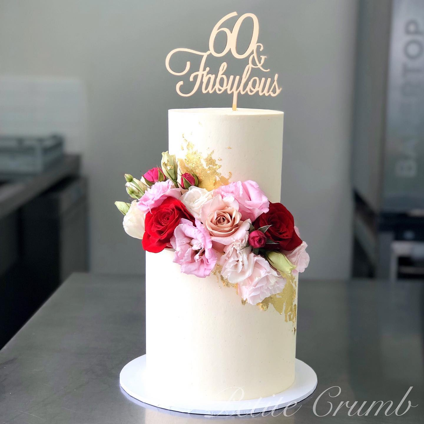 Sixty and fabulous two tier
