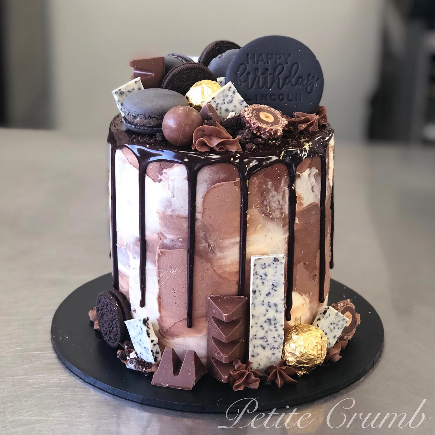 Loaded chocolate drip cake