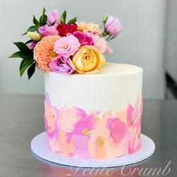 Textured buttercream base