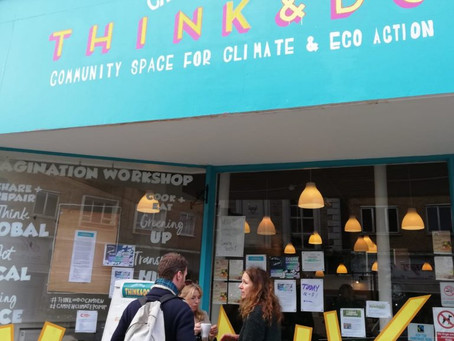 Think and Do: Community space for climate and eco-action reopens in Camden