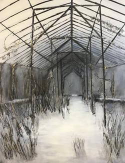 Erinnerungen, 170cm x 130cm, Acryl auf Leinwand, 2020
