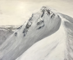 Aufstieg, 80cm x 100cm, Acryl auf Leinwand, 2020