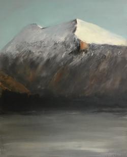 Blick vom Atelier, 100cm x 80cm, Acryl auf Leinwand, 2018