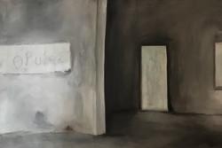 Eleousa, 60cm x 90cm, Acryl auf Leinwand, 2017
