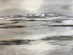 Island II, 100cm x 120cm, Acryl auf Leinwand, 2018