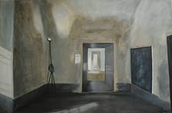 Franzensfeste I, 80cm x 120cm, Acryl auf Leinwand, 2018