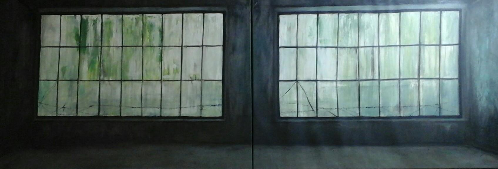 Ohne Titel 120 x 260 cm