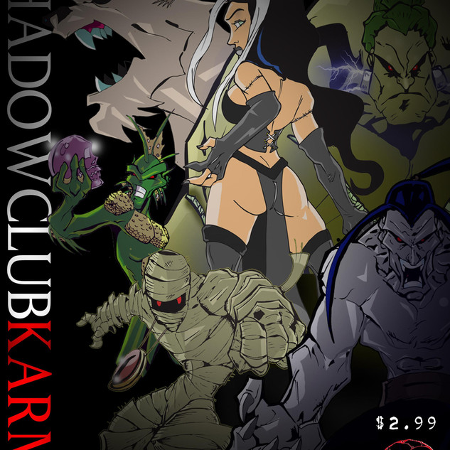 cover to Shadowclub Karma #1