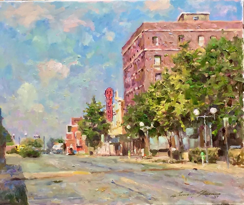 Leonard-Wren-Donates-Original-Artwork-to-The-Midland-Theater-Foundation