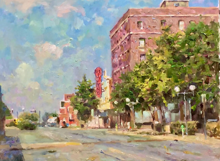 American Impressionist Leonard Wren Donates Original Artwork to The Midland Theater Foundation