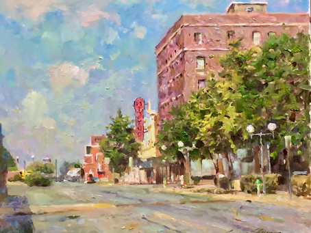 American Impressionist Leonard Wren Donates Original Artwork to The Midland Theater Foundation