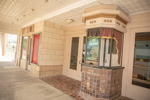 The Midland Theater: Ticket Booth
