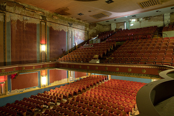 The Midland Theater: Balcony