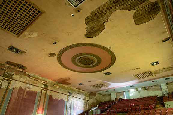 The Midland Theater: Ceiling