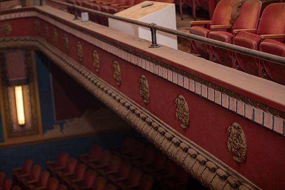 The Midland Theater: Crown Molding