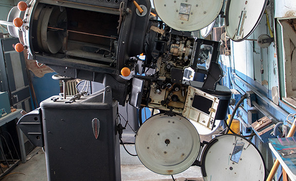 The Midland Theater: Projection Booth