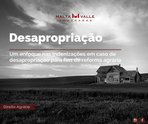 Os contornos jurídicos da desapropriação: um enfoque nas indenizações em caso de desapropriação para