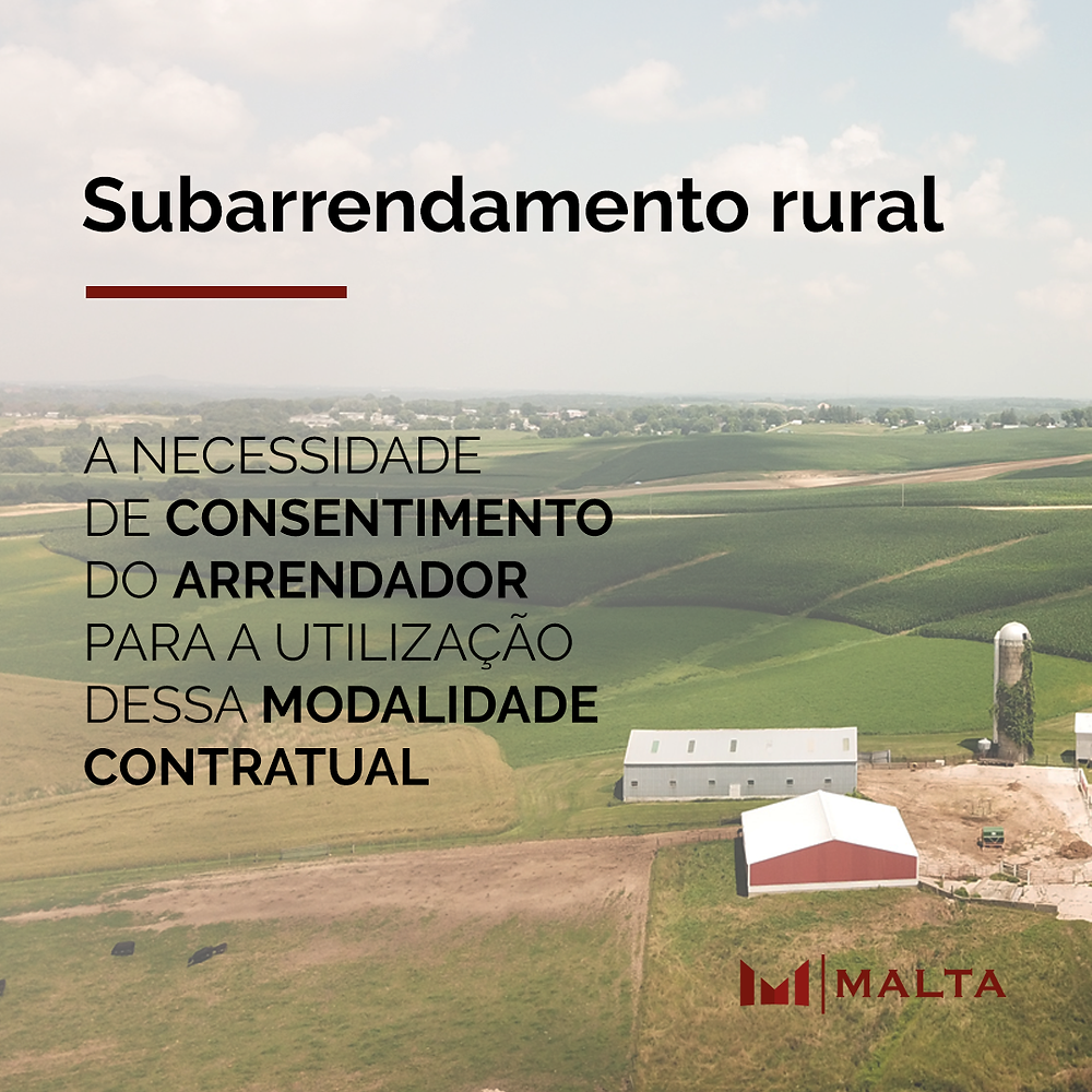 Subarrendamento rural