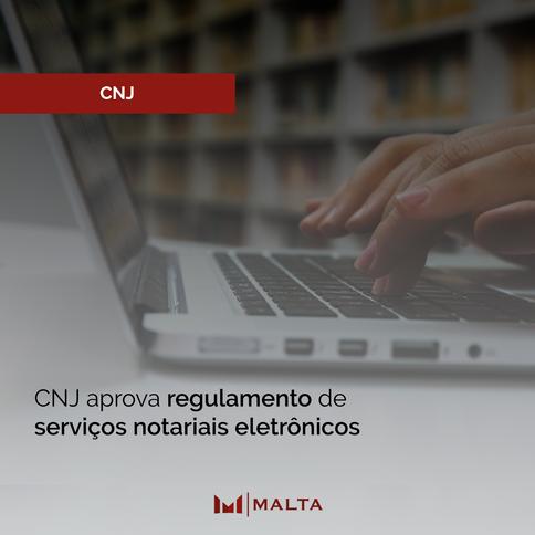 CNJ aprova regulamento de serviços notariais eletrônicos