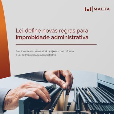 Lei define novas regras para improbidade administrativa