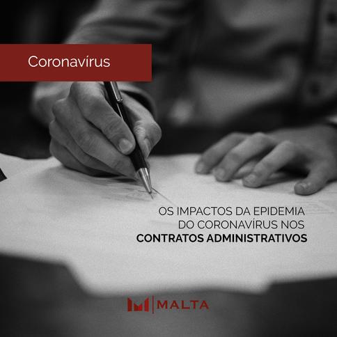 Os impactos da pandemia do novo coronavírus e o equilíbrio econômico-financeiro dos contratos admini