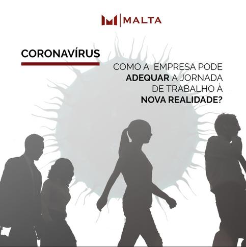 Coronavírus: como a empresa pode adequar a jornada de trabalho à nova realidade?