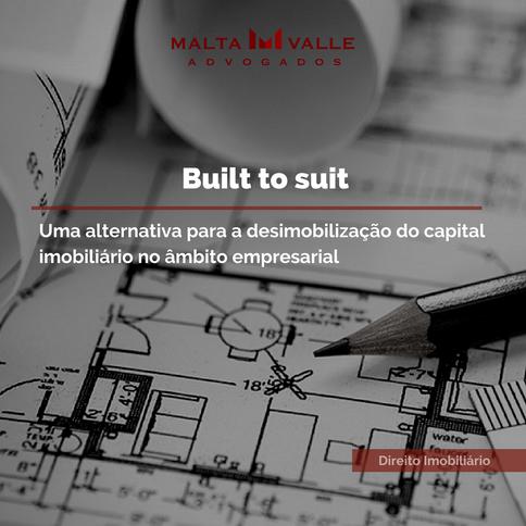 Contratos imobiliários: Built to Suit