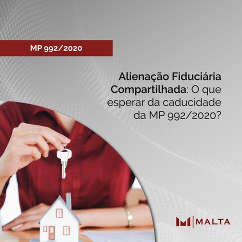 Alienação Fiduciária Compartilhada: O que esperar da caducidade da MP 992/2020?