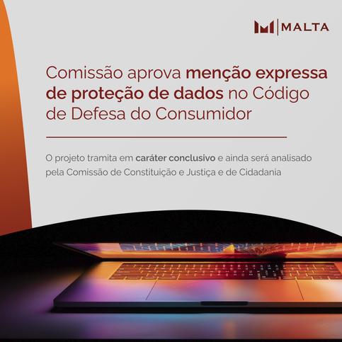 Comissão aprova menção expressa de proteção de dados no Código de Defesa do Consumidor