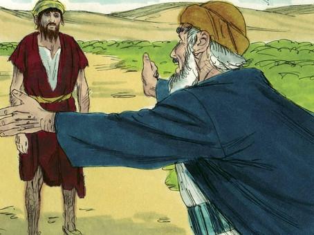 """,,Wij bidden voor je, jongen."""""""