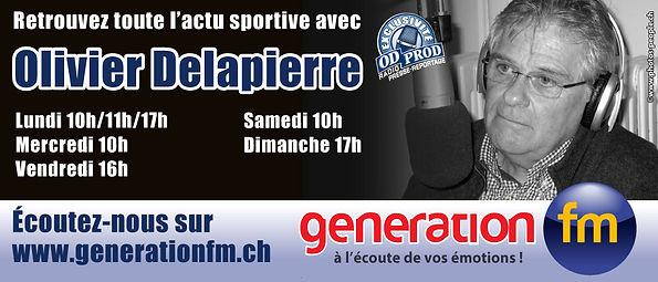 Flash info Sport génération fm