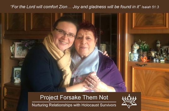 Forsake Them Not