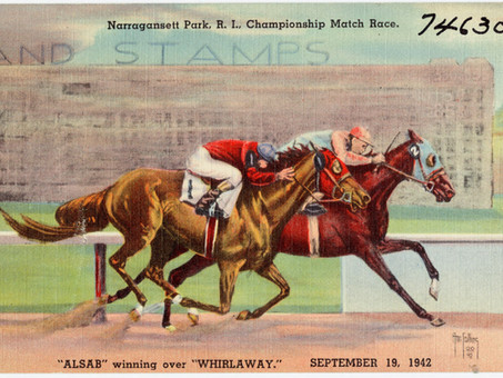 Whirlaway vs. Alsab: Two Favorites Compete