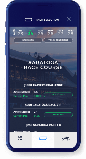 StableDuel, daily contest app sports betting app for horse racing
