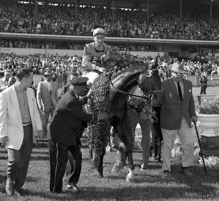 Needles after winning the 1959 Kentucky Derby Pensive, Ponder