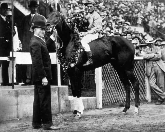 1913 Kentucky Derby longest shot winner Donerail and Roscoe Goose