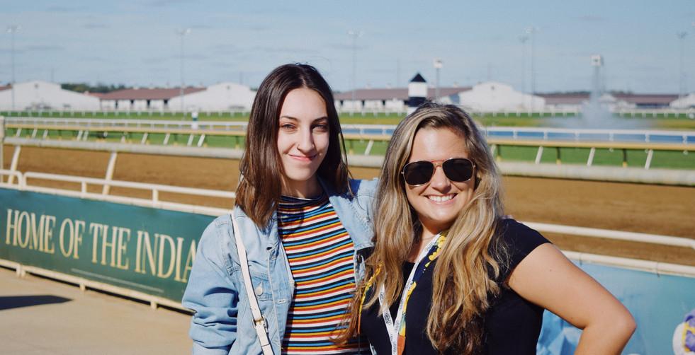 Kaeli & Cady Coulardot (CC Photography) at Indiana Grand