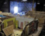 Interior Set/Sound Stage