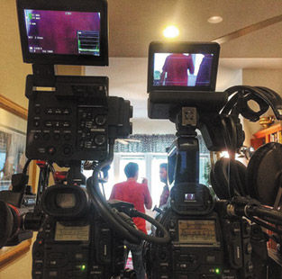 Film Crew at Work