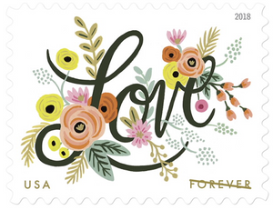 Rifle Paper Co. Love Stamp