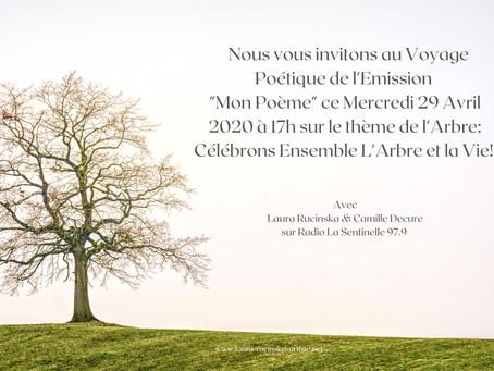 """Alain Canet, le Soigneur de la Terre met à l'honneur l'Arbre dans l'Emission """"Mon Poème"""""""