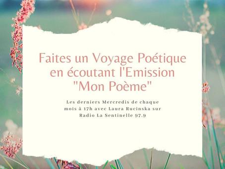 """Emission Radiophonique """"Mon Poème"""": un Souffle Créateur pour notre Année 2020"""