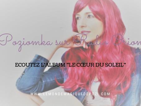 """Ecoutez """"Le Coeur du Soleil"""" sur Radio Orion"""