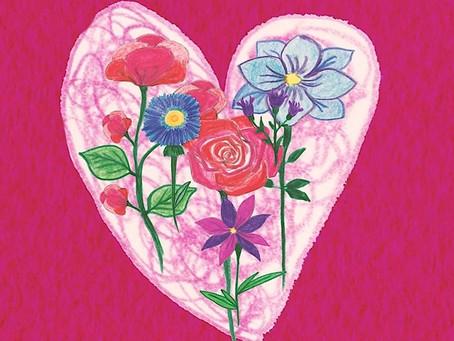 Il faut mettre des Fleurs dans chaque Coeur pour qu'elles puissent nous apporter du Bonheur