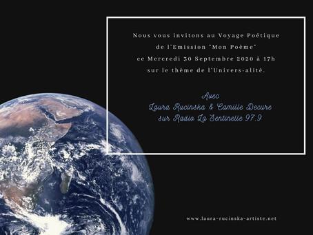 """Christian Séguié sur L'Univers-alité est notre Invité dans notre Emission """"Mon Poème"""""""
