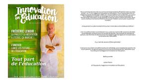 Innovation en Education: le Magazine