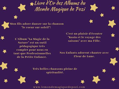 Livre d'Or des Albums du Monde Magique de Pozi