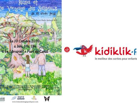 Retrouvez Le Monde Magique de Pozi sur Kidiklik pour La Librairie Le Pavé du Canal
