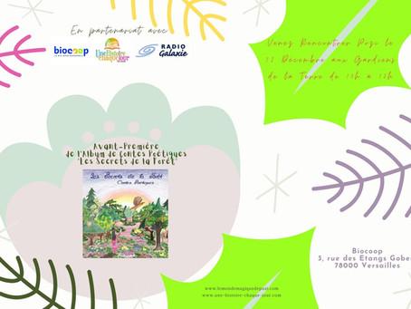 """Avant-Première de l'Album de Contes Poétiques """"Les Secrets de la Forêt"""" avec Pozi"""