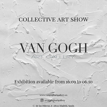 VAN GOGH ART GALLERY COLLECTIVE ART SHOW